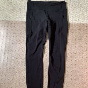 Lululemon Wunder Unders With Zipper and Pockets